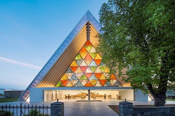 Cardboard Cathedral, Christchurch, New Zealand, 2013.