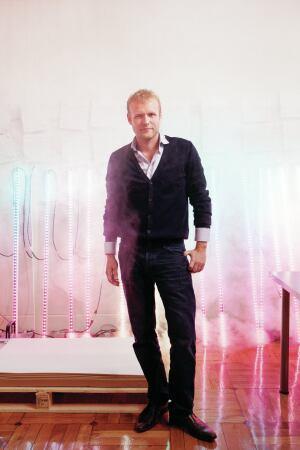 Tapio Rosenius of Madrid-based lighting studio Lighting Design Collective.