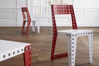 Meccano Debuts a Life-Sized Furniture System