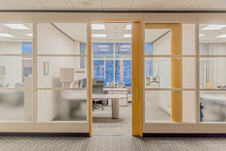 Cree's SmartCast lighting installation at the Lord Corp. headquarters in Cary, N.C.