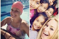 Social Activist and Entertainer Swims 24,000 meters in 8.5 Hours for Children in Poverty