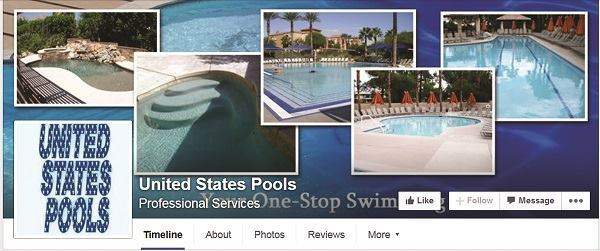 Social dearth: United States Pools has a Facebook page, but it's been quiet. The last posting was on January 16. Its owner pleaded guilty to several counts of grand theft.
