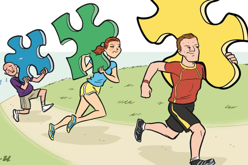 Healthy Competition: Wellness Campaign Fosters Teamwork and Good Health