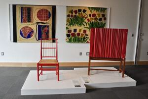 An image from the Washington, D.C., exhibition The Enduring Designs of Josef Frank.