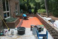 Rebuilding a Brick Patio