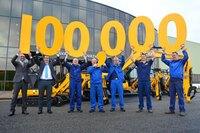 JCB Celebrates Milestone, Produces 100,000th Compact Excavator