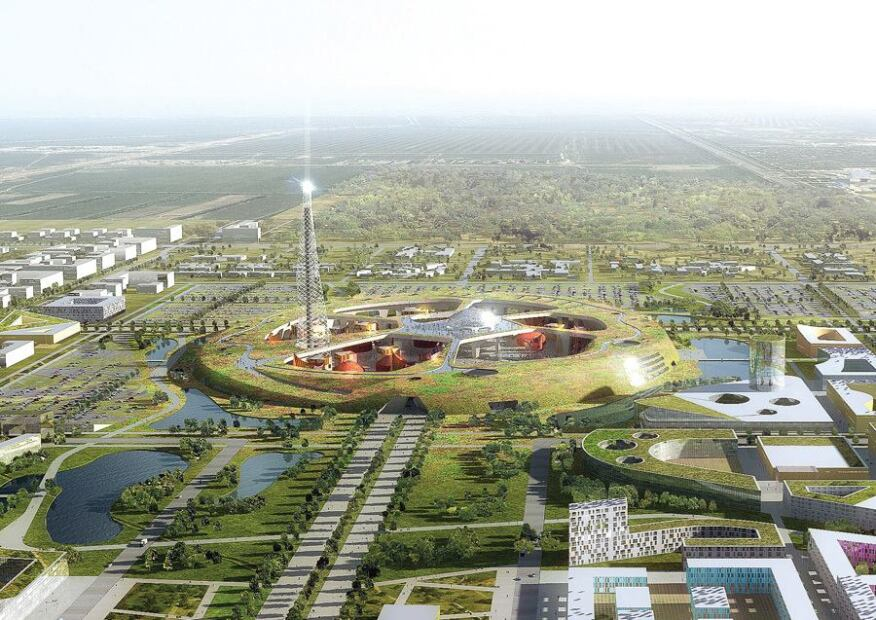 Mecanoo design for Expo 2017