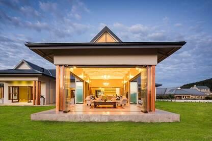 Frameless Glazing on Luxury Villa, Zimbali – South Africa