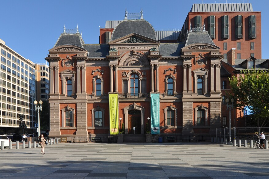 The Smithsonian American Art Museum's Renwick Gallery, Washington, D.C.