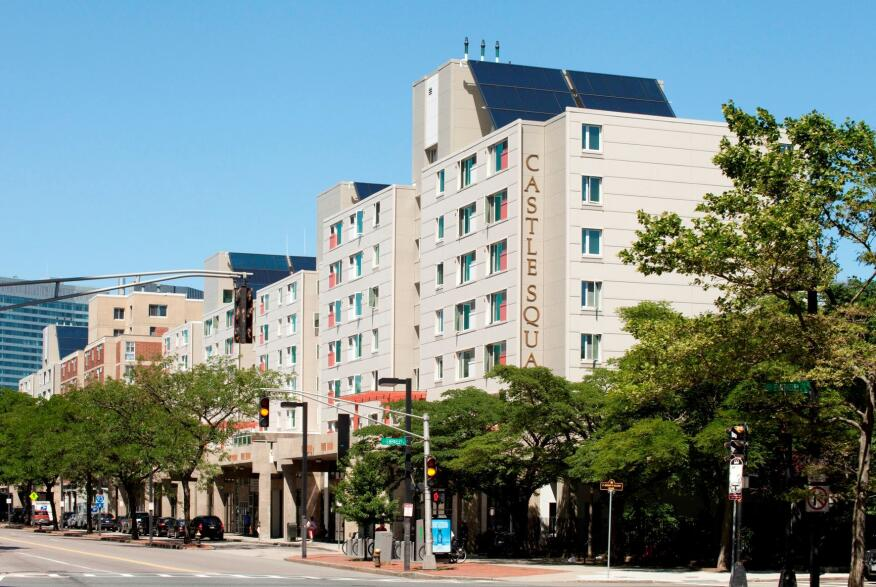After a two-year deep-energy renovation, the 500-unit Castle Square Apartments in Boston's South End received LEED-Platinum certification.