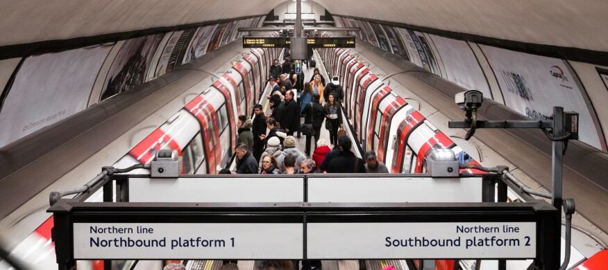 The nonprofit joint venture Wayfindr is developing an open standard for audio-based wayfinding tools and is testing the program in select London Underground stations.