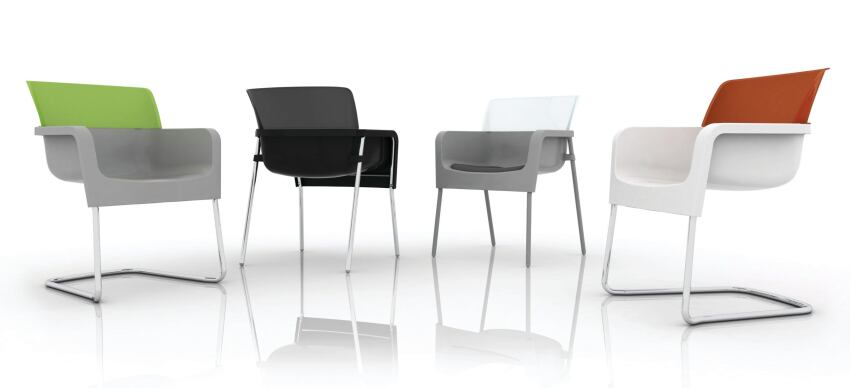 Chair Integrates Post-consumer Material