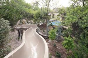 Installed properly, serpentine slides such as this can provide your customers plenty of splashing thrills.
