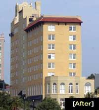 Formerly The Florida, Lake Mirror Tower now offers lakefront living to apartment Scott Wheeler