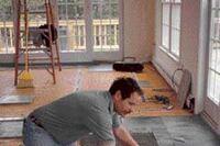 Installing an Ornamental Tile Floor