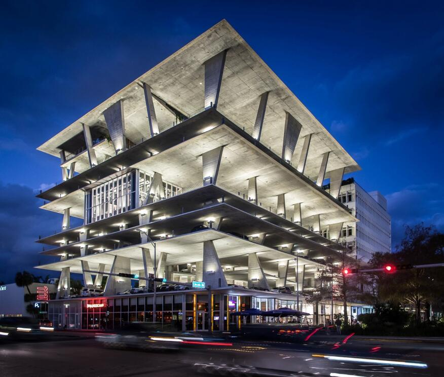1111 Lincoln Road in Miami, Florida, by Herzog & de Meuron