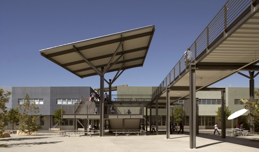 William J. Clinton Middle School in Los Angeles