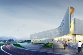 Sports Complex Project for the Daegu-gun Region, Daegu city, South Korea
