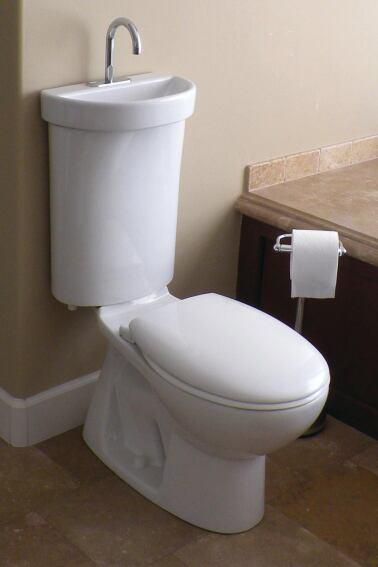 Toilet Integrates Sink