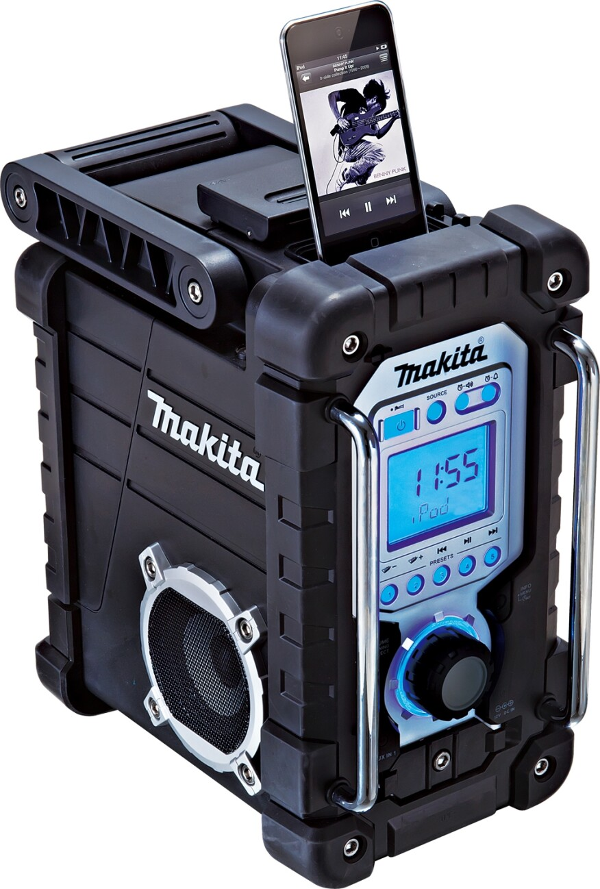 Job Site Radios Are Loaded With Features Builder Magazine Products Work Wear And Gear