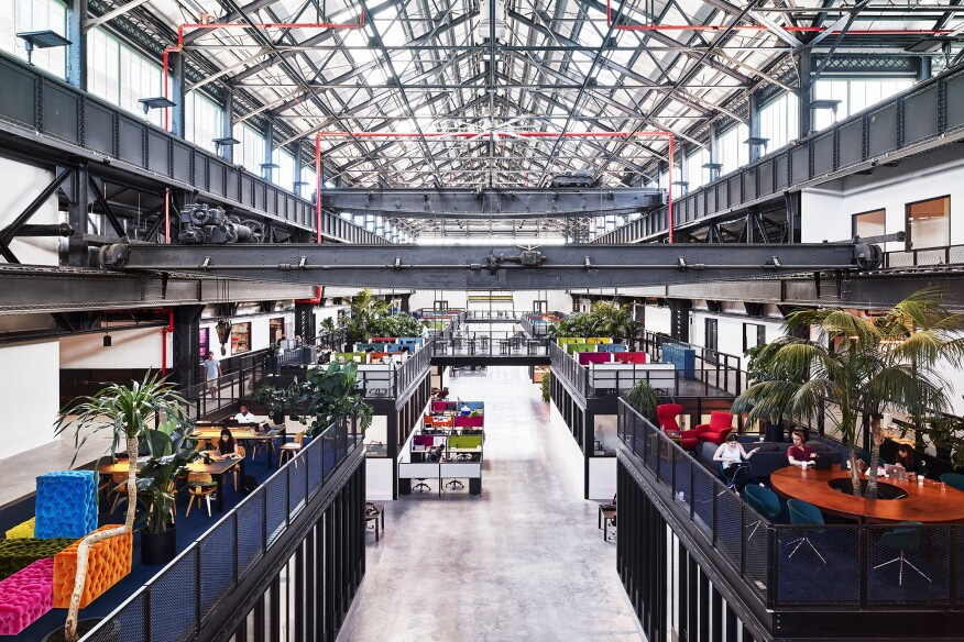 The New Lab, in the Brooklyn Navy Yard, New York