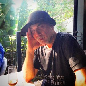 Lunch with Ron Arad.