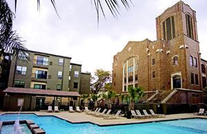 PROPERTY: Sanctuary Lofts   DEVELOPER: Sanctuary Lofts   LOCATION: San Marcos, Texas   RENOVATION COST: $27.5 million   LENGTH OF RENOVATION: 16 months   SCOPE OF PROJECT: Adaptive reuse of a church into student housing