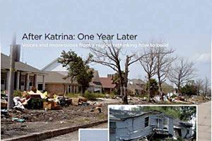 After Katrina: One Year Later