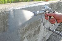 Spray protects steel and concrete from corrosion