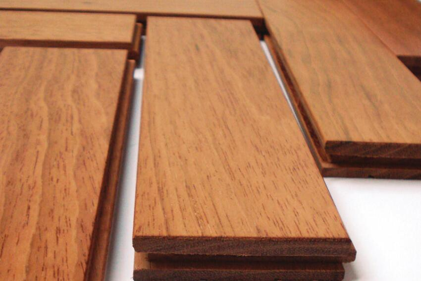 A Bone to Pick: IndusParquet Herringbone Flooring in Brazilian Cherry