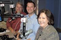 Contractors publicize with radio