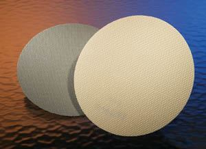"3M's new fine grinding and topical polishing pads incorporate ""structured"" composite shapes."