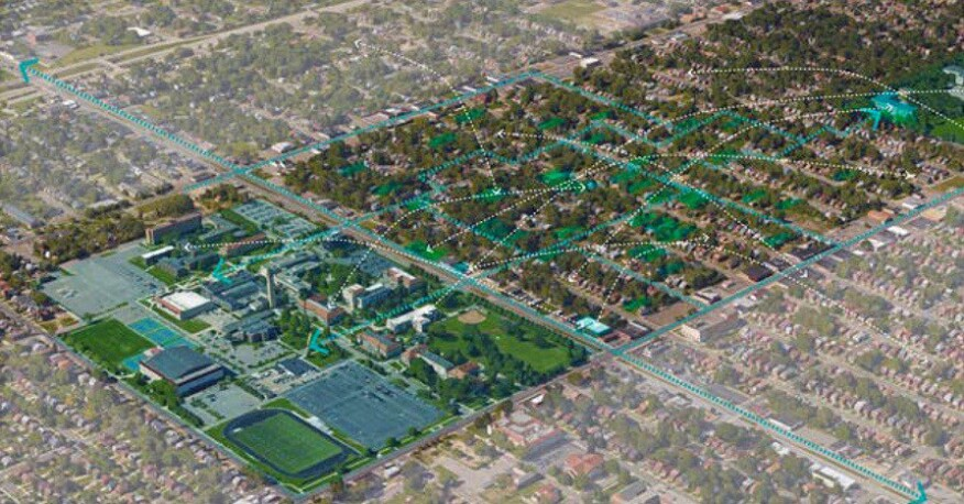 Reimaging the Civic Commons project along the Livernois and McNichols corridor