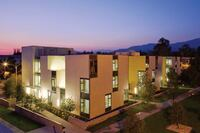claremont mckenna college residence hall, claremont, calif.