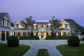 Coastal New England Harbor House