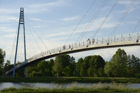 Cable-Stayed Foot Bridge