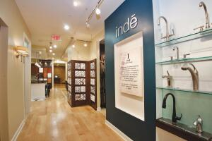 Indeís showroom near Rochester, N.Y., offers a one-stop-shop design/build approach to differentiate itself in the marketplace. Visitors can work with on-staff designers, learn about the remodeling process, and make product selections for interior and exterior projects.