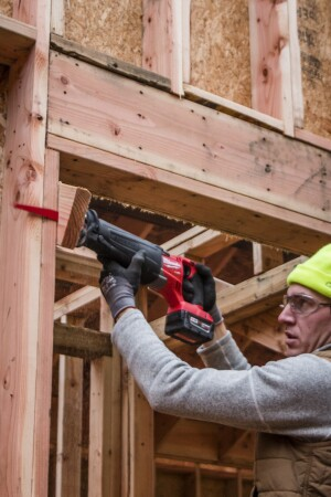 Power and control. The latest Milwaukee M18 Fuel cuts fast, but at the same time, the user has a lot of control over the cutting. For work on a framing site, the author contends, it performs better than any corded model he's tried.