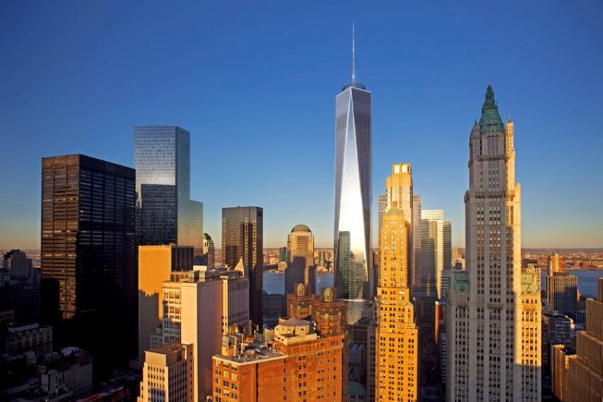 New Renderings Show Design Changes for 1 World Trade Center