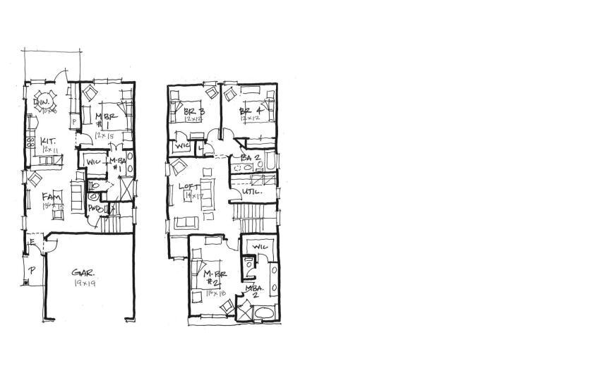 Space Savers A few small but significant tweaks make this compact plan much more livable.