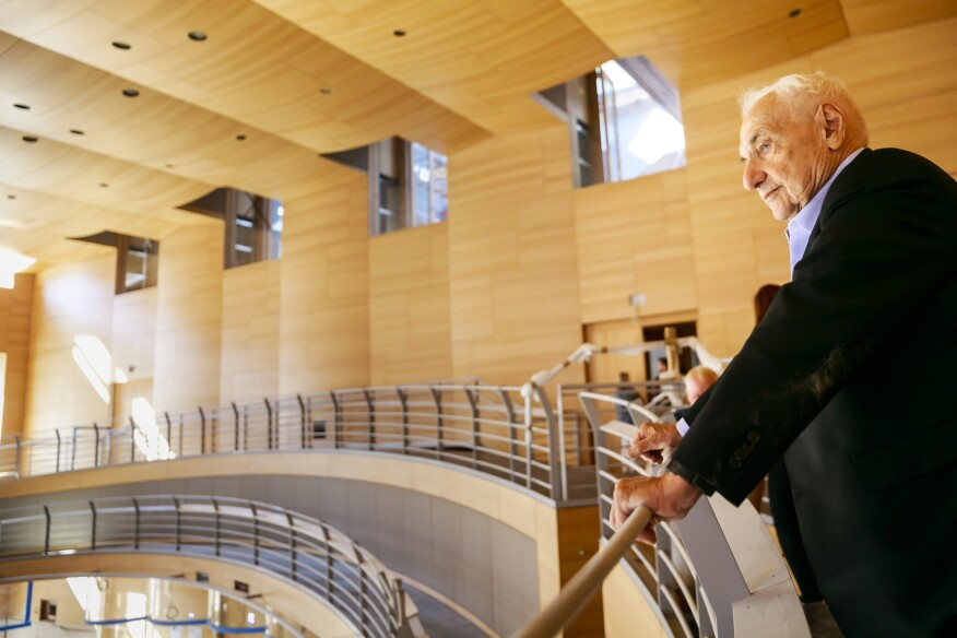 Gehry at Boulez Hall