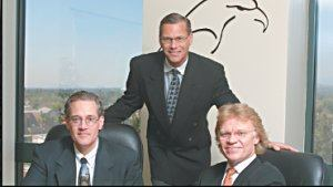 In June 2002, Kyle Martin, Randall Friend, and Kenneth Melton (from left to right) established Eagle Real Estate Group in Anaheim, Calif. The company acquires multifamily properties in targeted markets.