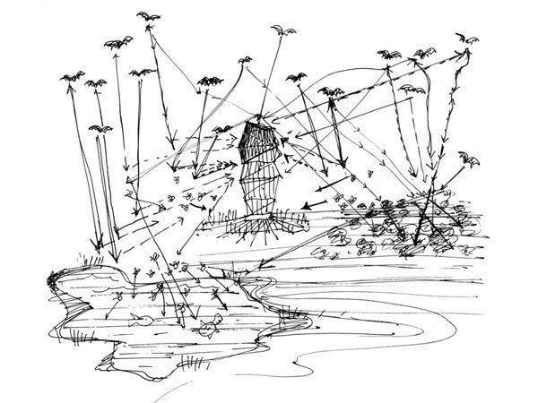 Bat Tower sketch.