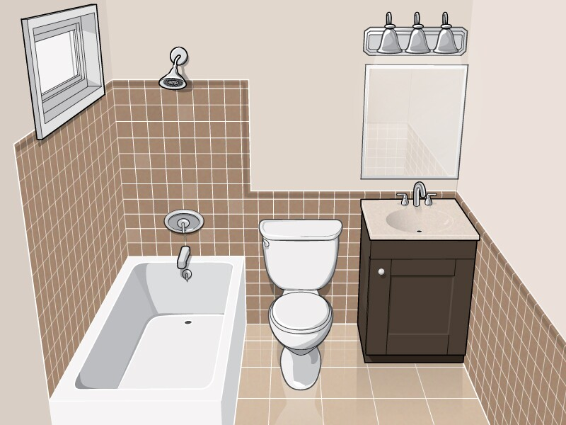 Should you save or splurge when selecting products - Bathroom renovation cost per square foot ...