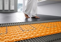Electric Floor Warming System with Uncoupling Technology