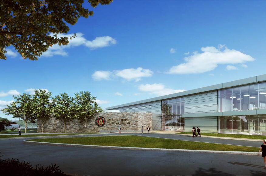 Atlanta United Training Ground Residential Architect