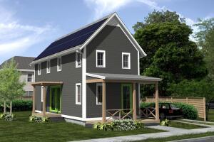 Carbon Challenge Providence winning design by ZeroEnergy Design.