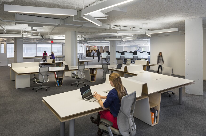 Office Renovation hanley wood 6th floor office renovation | architect magazine