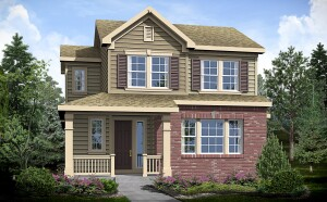Rendering of a Century Communities single-family home at Littleton Village.