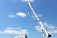 25-ft. telescoping cranes for work trucks